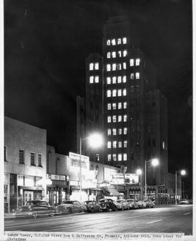 Luhrs_Tower_Christmas_Cross_1953