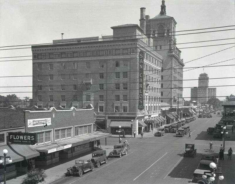 Hotel San Carlos 1930s