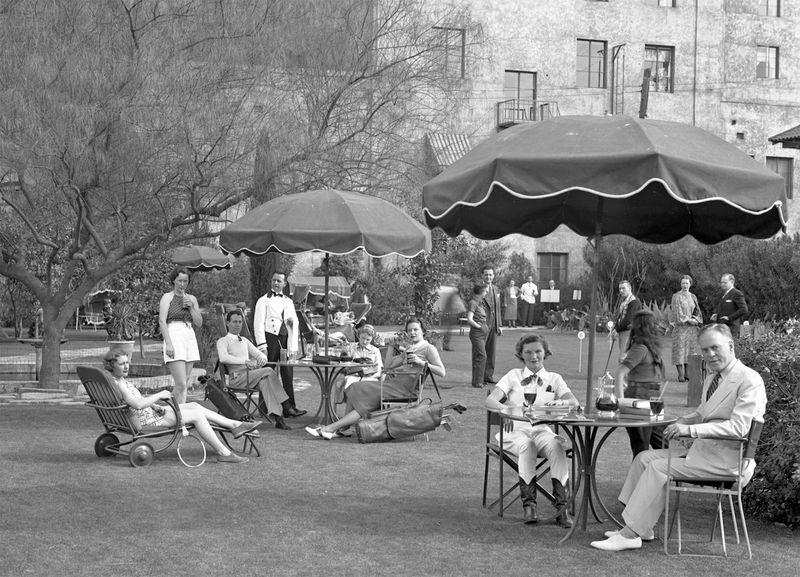 Westward_Ho_grounds_relaxing_1940s
