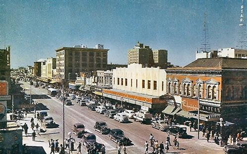 Goodrich_Washington_1st_Street_looking_west_1930s