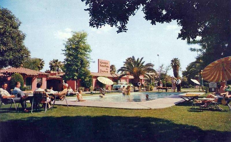 Greenway_Motor_Hotel_Restaurant_1208_W_Van_Buren_1950s