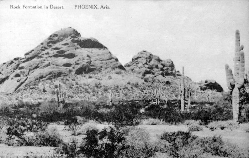 Rock_Formation_in_Desert_Papago_Park_1917