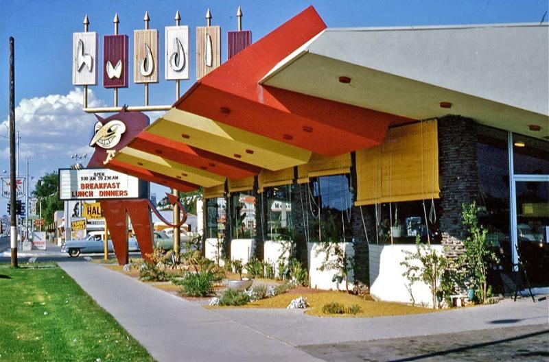 Huddle_restaurant_southeast_corner_University_Mill_Tempe_1950s