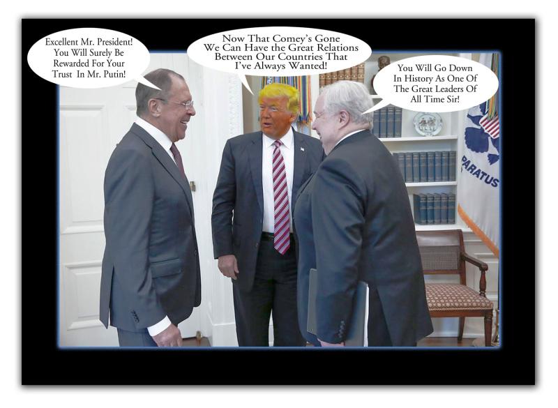 Lavrov Trump KislyakMeetingFltW