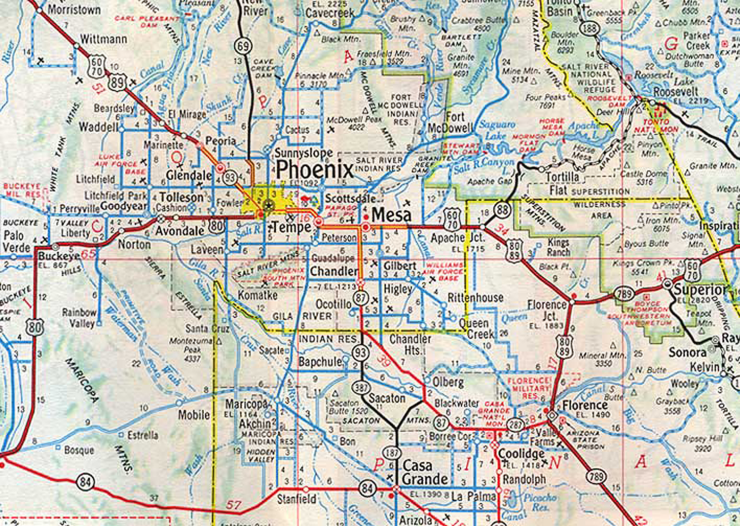 Map Of Phoenix Arizona  My blog