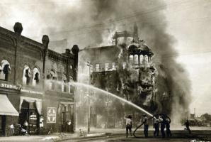 Hotel Adams fire