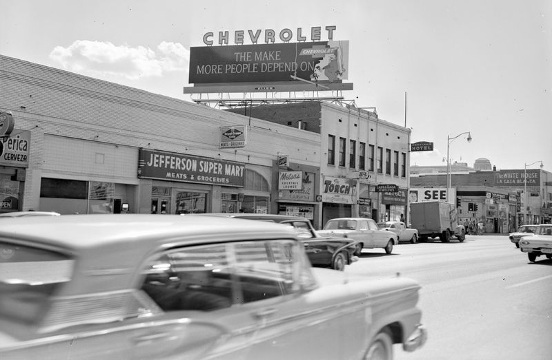 Jefferson_Super_Mart_Washington_3rd_St_Chevrolet_billboard_1960s