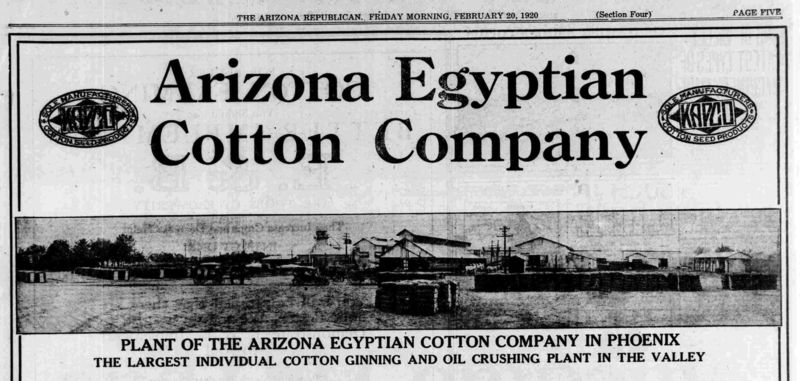 Ad_Arizona_Egyptian_Cotton_Company_6th_St_Lincoln_1920