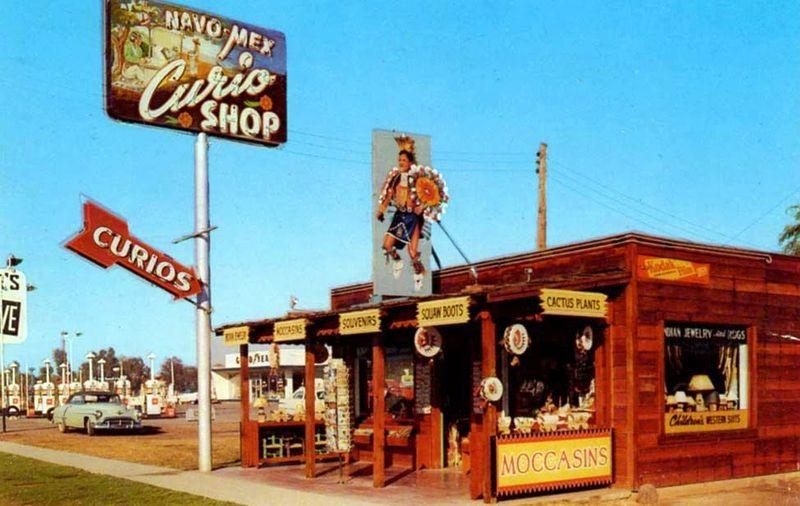 Navo-Mex_Curio_Shop_2820_E_Van-Buren_1950s
