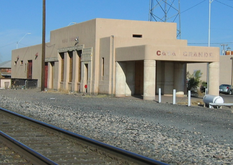 Casa Grande SP depot