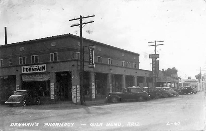 Stouts Hotel  Gila Bend 1930s