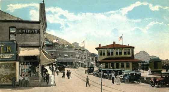 Bisbee railroad depot
