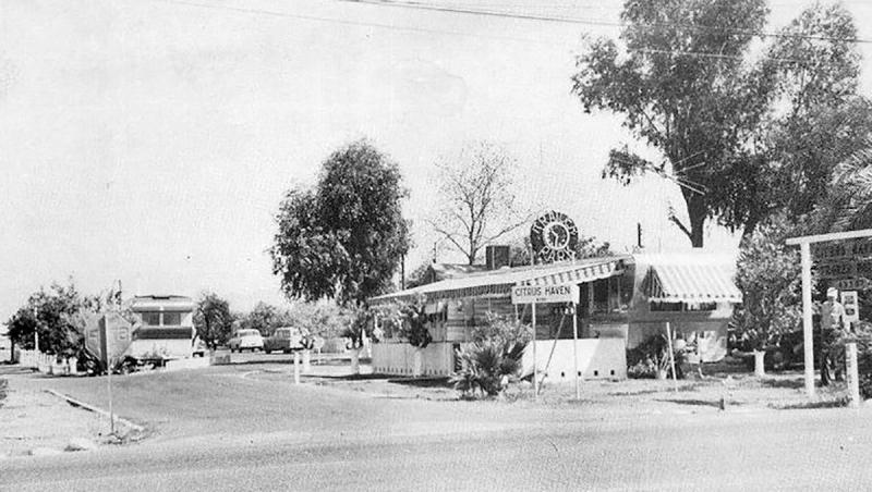 Citrus Haven Trailer Park 4330 E. McD 1950s
