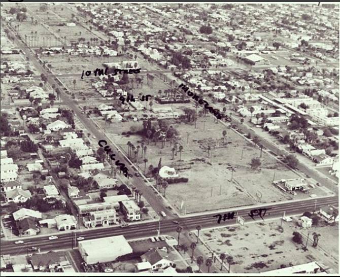 Moreland corridor 1970s