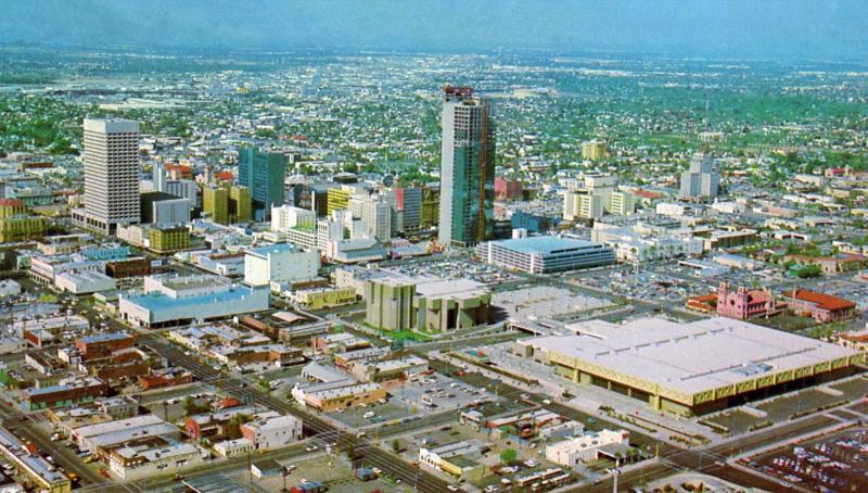 Downtown skyline 1972