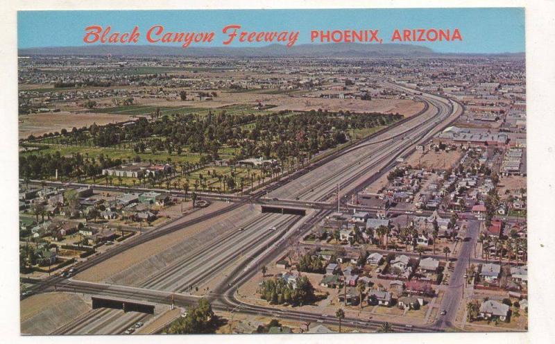 Black Canyon postcard late 1950s