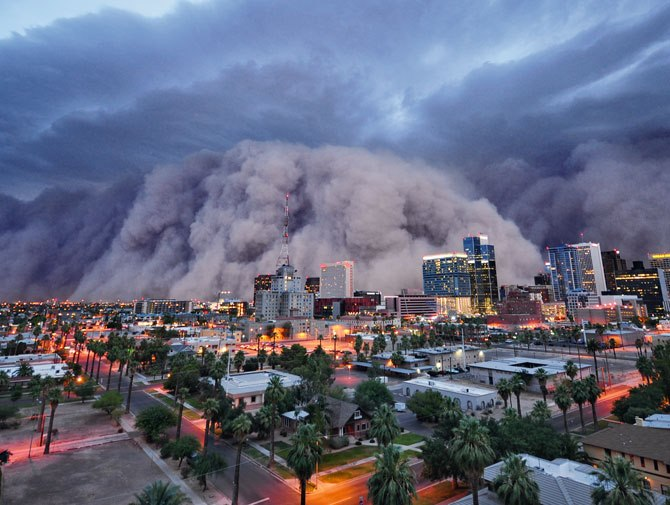 Image result for beset phoenix haboob photos