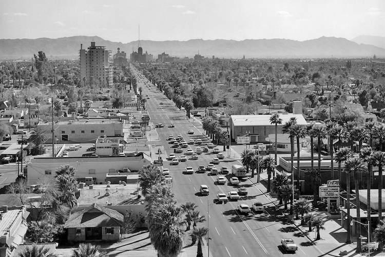 Midtown circa 1956