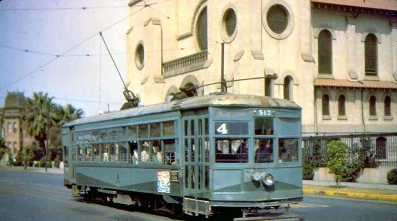 Streetcar St. Mary's 1940s