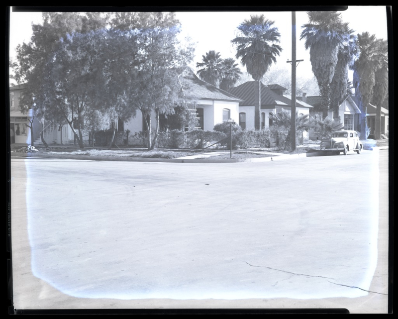 East Pierce and Second Street 1946