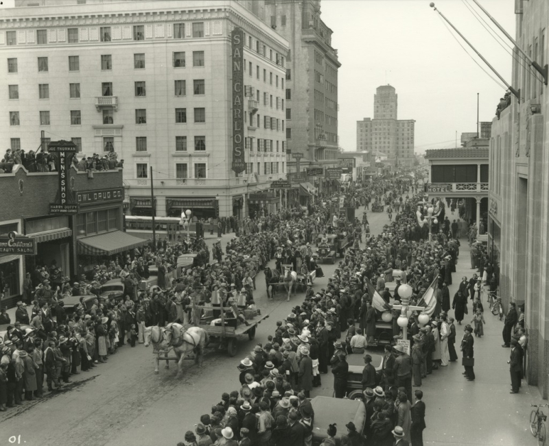 Jaycees Rodeo Parade 1937