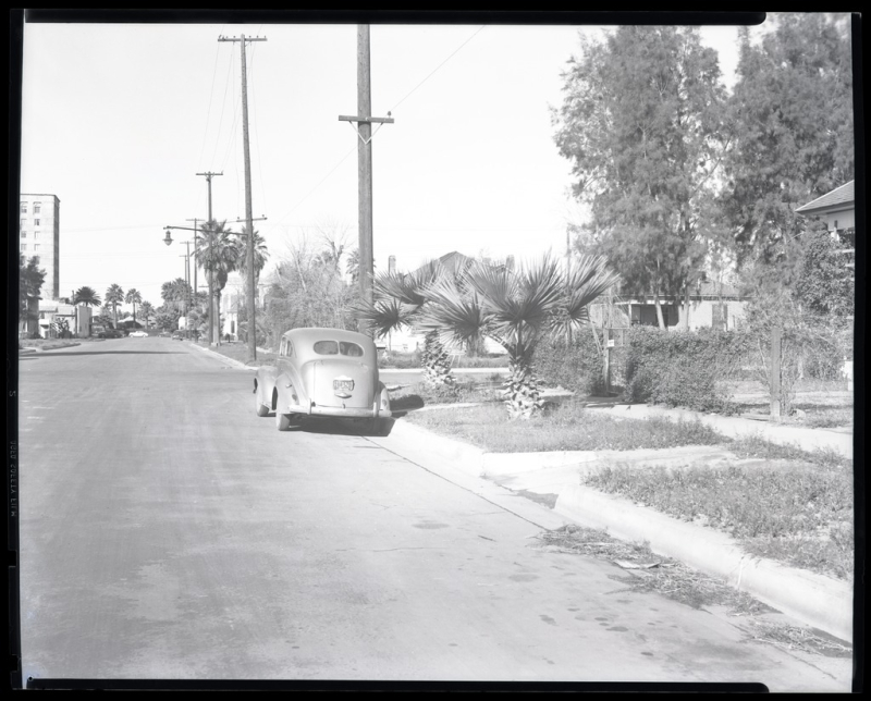 Second St and Pierce 1945