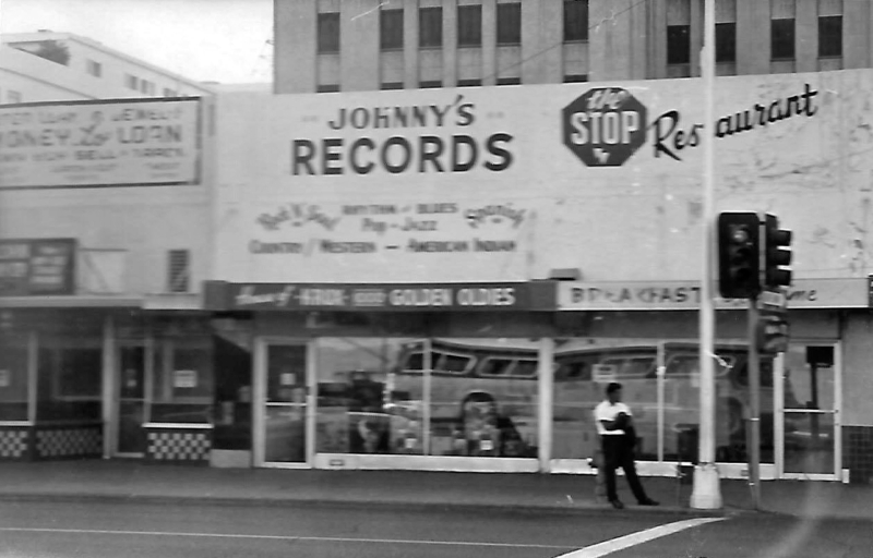 Johnny's Records 146 N. I St. 1967