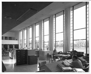 1950 library interior