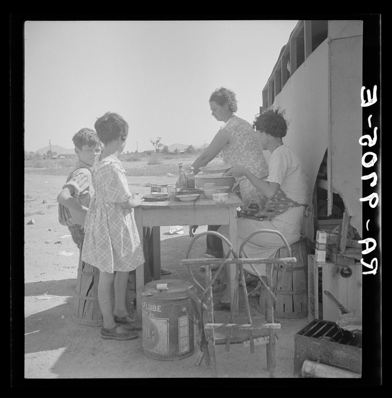 Drought refugees 1936
