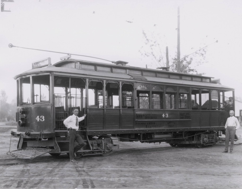 Phoenix streetcar 1920s