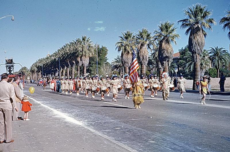 PIHS parade 1952