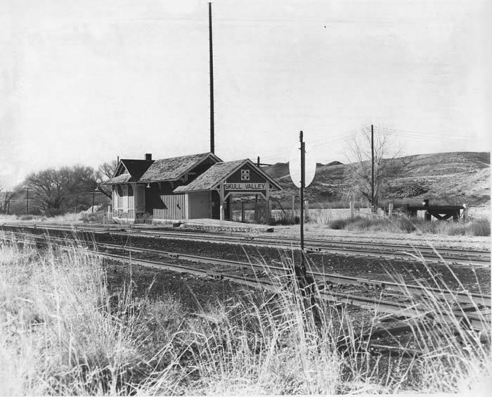 Skull Valley ATSF station