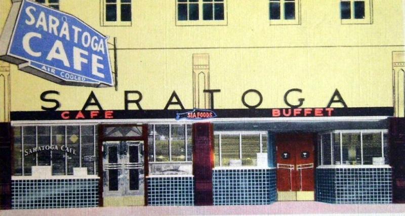 Saratoga Cafe 1940s