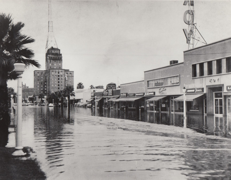 North Central flood circa 1940s.