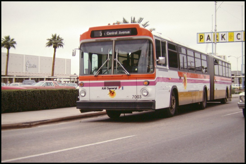 Articulating bus 1970s