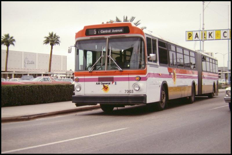 Articulating bus 1970s