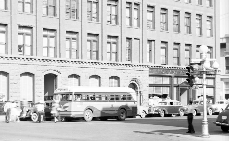 Washington_1st_Ave_Fleming_Building_Encanto_Park_bus_1945