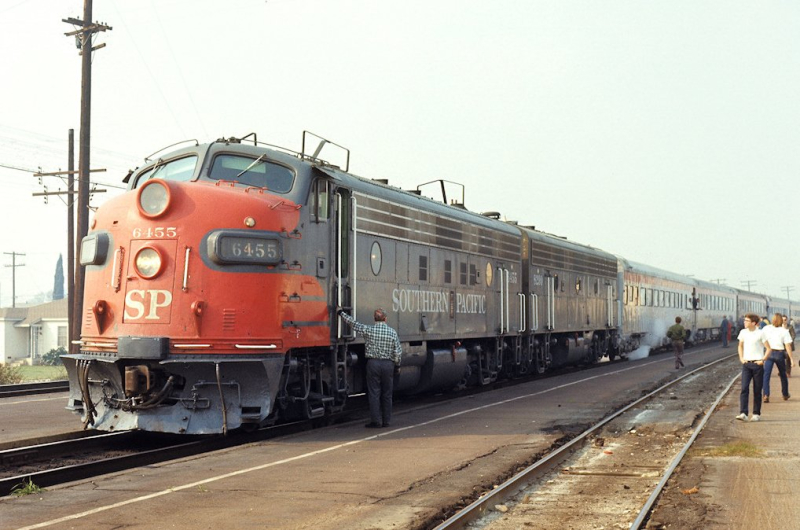Southern Pacific Sunset 1972