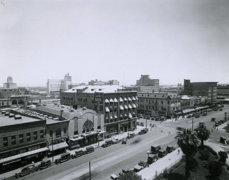 Second Ave and Washington 1929 McC