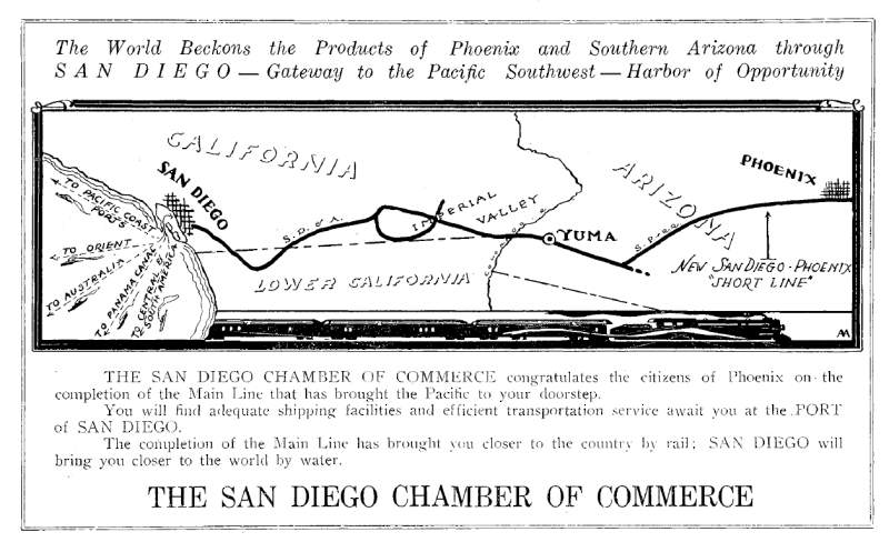 Ad_Main_Line_San_Diego_1926