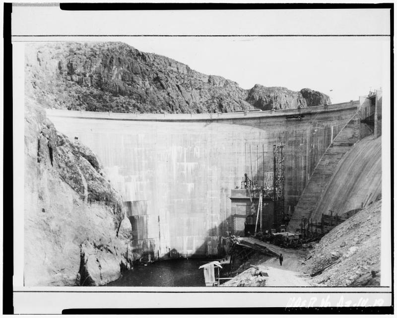 Mormon Flat Dam