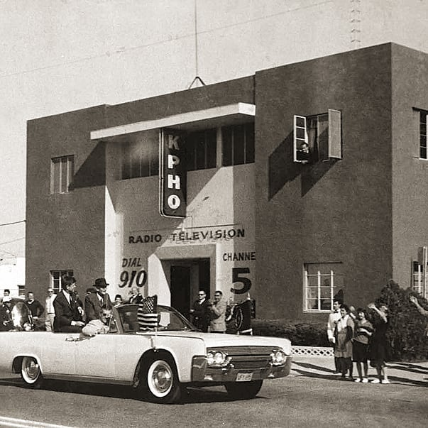 JFK  Hayden 1962 KPHO