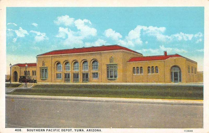 Yuma SP depot