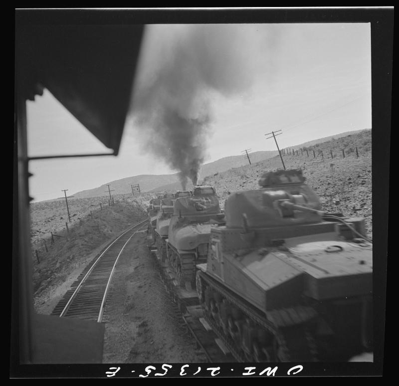 ATSF tank train 1943