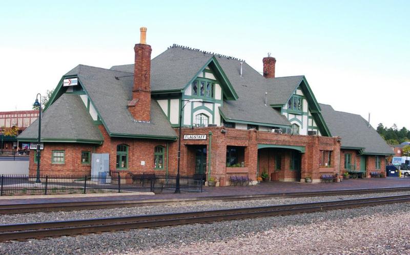 Flagstaff depot Amtrak