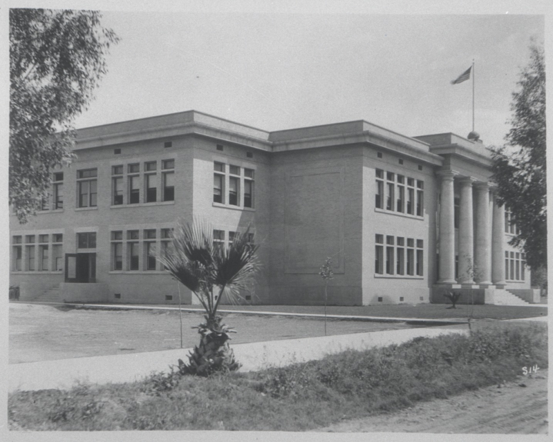 Adams (Grace Court) School 1920