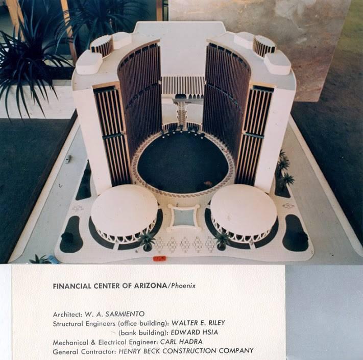 Financial Center model