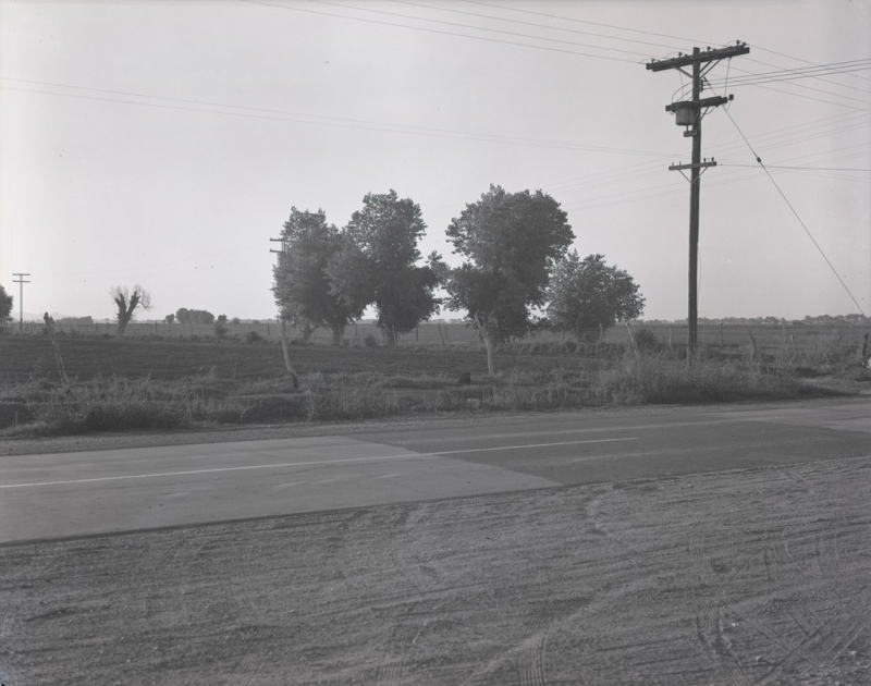 Rural intersection 1939 McC