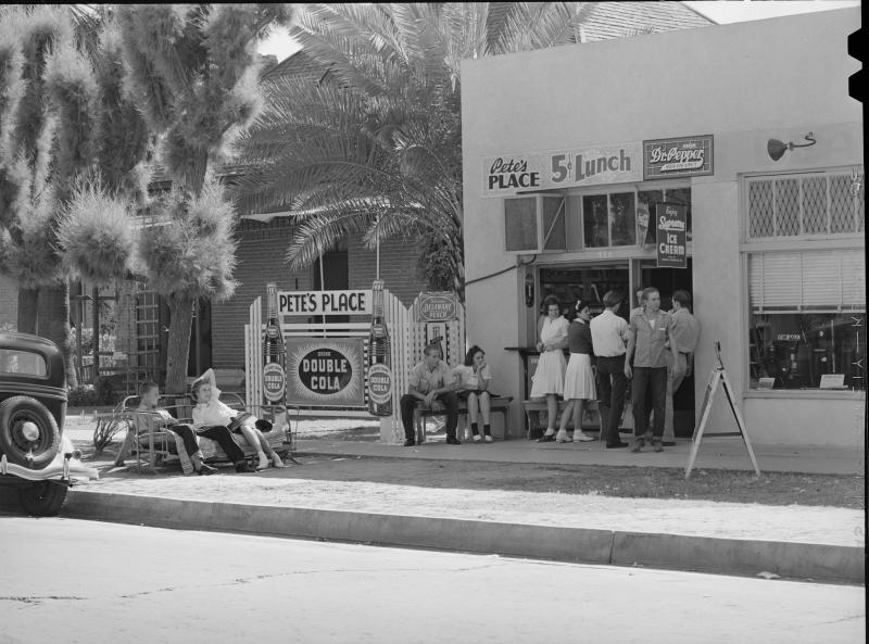 Phoenix Union lunch spot 1940