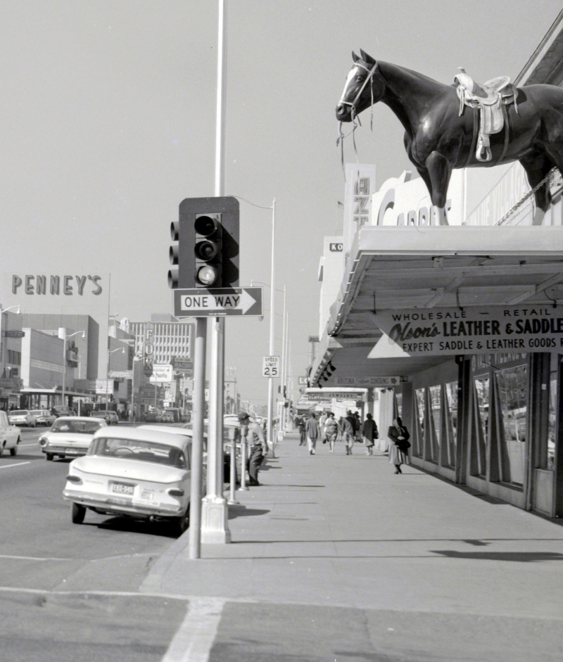Olsons_Leather_and_Saddle_Washington_4th_St looking_west_1960s(1)